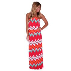 Patio Weather Maxi in Red | Impressions  Our summer maxi collection is to die for! Head over to www.shopimpressions.com and find your favorite styles!