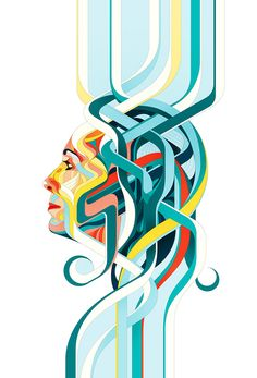 Editorial Illustration - Summer 2014 by Charles Williams, via Behance