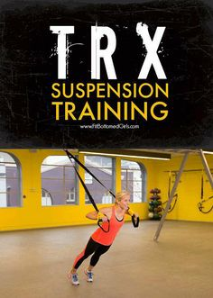 The awesome folks at TRX shared five TRX suspension exercises with us that will work your upper and lower body. If you're just starting out, focus on doing two sets of each for 30 to 45 seconds. if you've been intimidated by those straps and always wanted to try, this is for you!