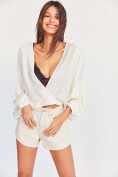 PERFECT White Top for Fall ( Under $60! )