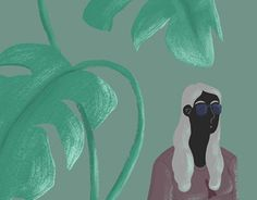 """Check out new work on my @Behance portfolio: """"Woman and The Plant"""" http://be.net/gallery/34369225/Woman-and-The-Plant"""