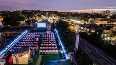 It can be hard to keep your eyes on the films at the Rooftop Film Club in Peckham, what with the knock-out views over the city. The sunset panoramas will have y