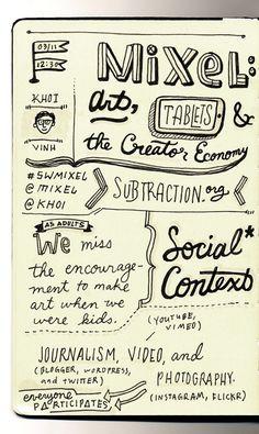 sxsw notes by gerren lamson