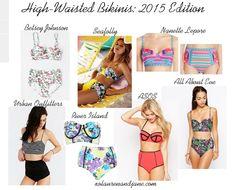 High-Waisted Bikinis Are My Spirit Animal - xo, lauren and jane