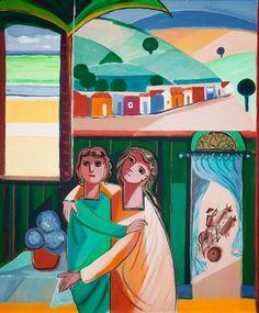 O Casal - Cícero Dias e suas principais pinturas ~ Pintor pernambucano Georges Braque, Henri Matisse, Arte Pop, Art For Kids, Princess Zelda, Fictional Characters, Painting Art, Beautiful Paintings, Visual Arts