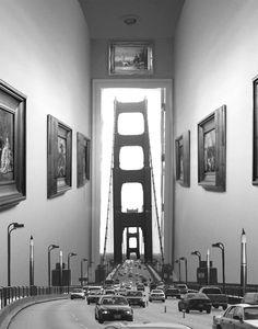 Une sélection des magnifiques photomontages argentiques de l'artiste Thomas Barbèy, basé aujourd'hui à Las Vegas, qui nous entraîne dans un joli monde surr