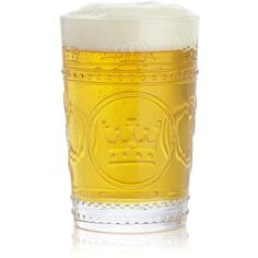 Crate & Barrel Regal Beer Glass found on Polyvore