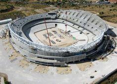 Club Atlético de Madrid - Nuevas imágenes aéreas del nuevo estadio