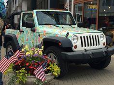 Boater jeep wrangler