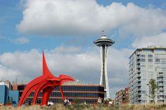 Sculpture Park, Seattle waterfront