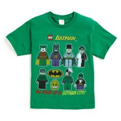LEGO® Batman Lego Short Sleeve Tee Loving the licensed Lego tees! #SearsMomBTS