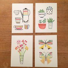 Some ideas for some mini prints #illustration #artprints