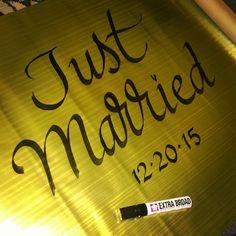 Love the Lettering   #Zenspirations #joannefink #just married #calligraphy #handlettering