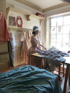 Colonial Williamsburg milliner's shop