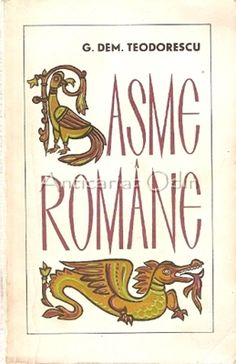 Basme Romane - G. Dem. Teodorescu Signs, Literatura, Shop Signs, Sign, Signage, Dishes