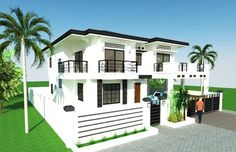 House Plan Purchase - Sets of Plan Blueprint Signed & Sealed) - Only Construction Contract: P M - Low-End/Budget P M - Mid-Range/Standard. Philippines House Design, Two Story House Design, Philippine Houses, Duplex Plans, Mansion Designs, Construction Contract, Maids Room, Low End, Ground Floor Plan