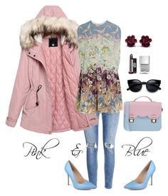 Designer Clothes, Shoes & Bags for Women Fashion Women, Women's Fashion, Women's Clothing, Valentino, Clothes For Women, Woman, Female, Polyvore, Pink