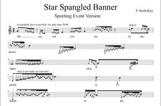 Star Spangled Banner - Sporting Event Version - Doobybrain.com