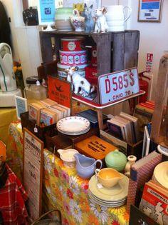vintage fair display