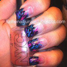 My Robin Moses inspired nail art!