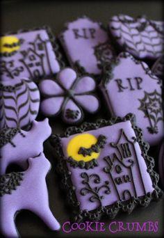 Purple and Black Halloween