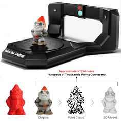 So, basically, sculpt something, throw it on here to scan, and send it to print. Could be useful to know? //How to 3D print all the stuff you want.