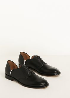 Maison Margiela Lace Up Derby (Black)