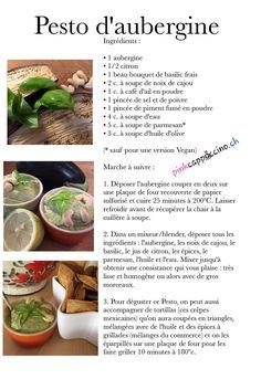 Pesto d'aubergine Pesto, Beef, Food, Cooks Illustrated Recipes, Olive Oil, Eggplant, Meat, Meals, Ox