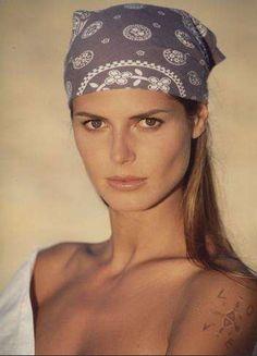 Young Heidi Klum
