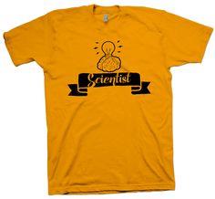 Scientist T-Shirt Science Nerd Geek Tee Funny Cute Slogan - T-Shirts March For Science, Nerd Geek, Funny Cute, The Ordinary, Cotton Tee, Slogan, Nerdy, Geek Stuff, Unisex