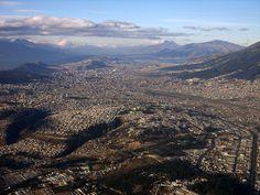 Quito (2800m), the capital of Ecuador