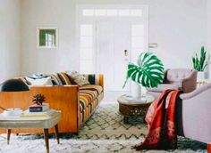 Cozy Living Room Decor Using Our Casablanca Rug By Safavieh