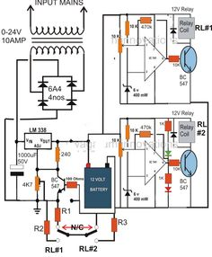 3 step automatic battery charger controller circuit - 28 images - lead acid battery charger electronic circuit autos, ac voltage regulator electrical wiring diagrams fuse box, 12 volt backup power supply 12 free engine image for, battery ch Lead Acid Battery Charger, Battery Charger Circuit, Automatic Battery Charger, Hobby Electronics, Electronics Basics, Electronics Projects, Power Supply Circuit, Electronic Circuit Projects, Arduino Projects