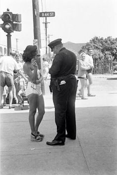 Photographs of people being ticketed for 'indecent exposure' at Rockaway Beach, New York in 1946 | Dangerous Minds