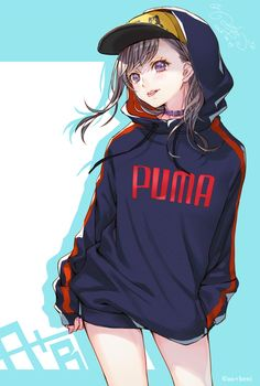 Fille Anime Cool, Cool Anime Girl, Pretty Anime Girl, Cute Anime Pics, Beautiful Anime Girl, Cute Anime Couples, Manga Anime Girl, Kawaii Anime Girl, Anime Girls