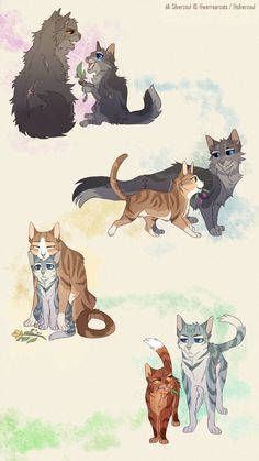 Yellowfang, Cinderpelt, Leafpool, Jayfeather, Alderheart (all [except Yf] being trained by the one before them) Warrior Cats Funny, Warrior Cats Comics, Warrior Cat Memes, Warrior Cats Series, Warrior Cats Fan Art, Warrior Cats Books, Warrior Cat Drawings, Warrior Cats Art, Cat Comics