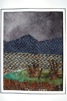 Harris Tweed card