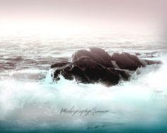 Photographie La mer, Paysage nautique, Couleurs Pastelles, Photo Nature, Fine Art Print, Wall Art Print, Romantique, Minimaliste, Décor Chic de la boutique PhotographySensor sur Etsy