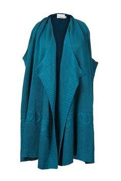 colete de tricô multifuncional | buddakan azul | coleteria in the city