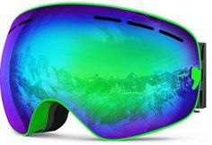 ZIONOR Lagopus X Ski Snowboard Goggles Full Mirror Coated Lens Spherical Lens UV Protection Anti-fog Detachable Strap Ski And Snowboard, Snowboarding, Skiing, Snowboard Goggles, Best Ski Goggles, Summer Vacation Spots, Fun Winter Activities, Best Skis, Ski