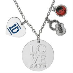 One Direction - Heart Zayn Charm Necklace - Price: $11.95 http://astore.amazon.com/1dstore-20/detail/B00IWVM9VM