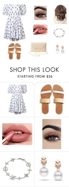 """random #82"" by lesssliiiiee on Polyvore featuring Caroline Constas, Isapera, Louis Vuitton, Escalier and Charlotte Russe"