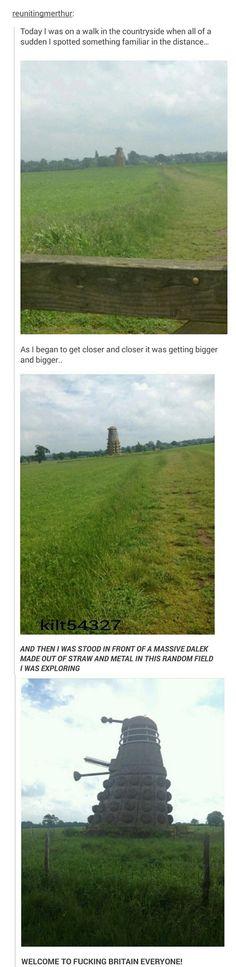 Daleks are taking over rural UK!