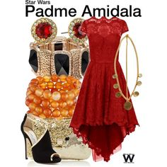 Inspired by Natalie Portman as Padme Amidale in the Star Wars film franchise.