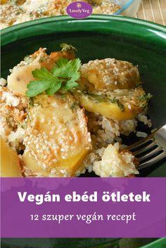 Vegán ebéd ötletek Protein Desserts, Vegetable Recipes, Vegetarian Recipes, Healthy Recipes, Asia Salat, Quinoa Vegan, Chili Sin Carne, Nutella, Clean Eating