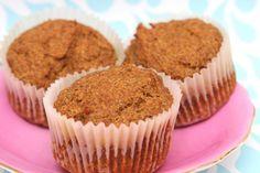 GF Vegan Grain Free Pumpkin Muffins (Primal, Egg free, Dairy free, Nut free, Gum free, Soy free, Sugar free)