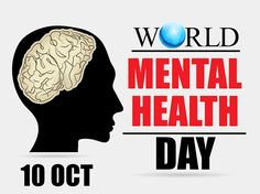 World Mental Health Day - October 2016 Mental Health Week, Mental Health Benefits, Mental Health Issues, Mental Health Awareness, Religious People, Different Quotes, Interesting Information, Feeling Happy, Psychology