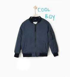 Bomber jacket-View all-OUTERWEAR-BOY | 4-14 years-KIDS | ZARA United Kingdom