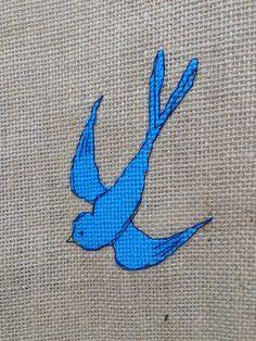 Bleu celeste by LaAmapolaRoja on Etsy
