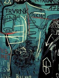 death by heroin overdose) Jean Basquiat, Jean Michel Basquiat Art, Kandinsky, Basquiat Paintings, Basquiat Artist, Klimt, Radiant Child, Graffiti, Art Africain